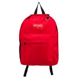 24 Bulk Kids Classic Backpacks In Red