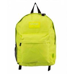 24 Bulk Kids Classic Padded Backpacks In Lime