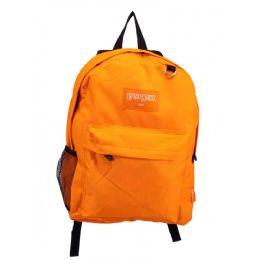24 Bulk Classic Kids Padded Bulk Backpacks In Orange