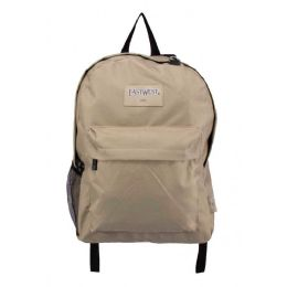 24 Bulk Classic Kids Bulk Backpacks In Tan