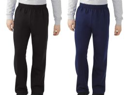 24 Bulk Men's Fruit Of The Loom Sweatpants, Size Small Bulk Buy