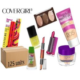 125 Bulk Wholesale Assorted Covergirl Cosmetics