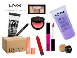 125 Bulk Wholesale Nyx Cosmetics