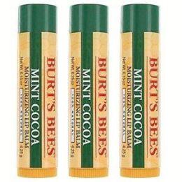 100 Bulk Burt's Bees Limited Edition Lip Balm Mint Cocoa 0.15oz