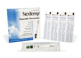 2000 Bulk Nextemp (standard) SinglE-Use Clinical Thermometer Disposable Individually Wrapped Fahrenheit