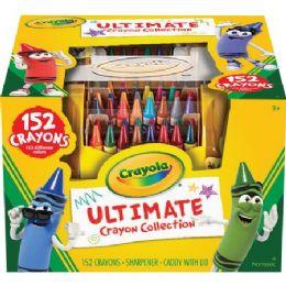 24 Bulk Crayola Ultimate 152 Crayon Collection