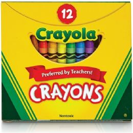 360 Bulk Crayola Tuck Box 12 Crayons