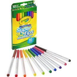216 Bulk Crayola Super Tips 10-Color Washable Markers