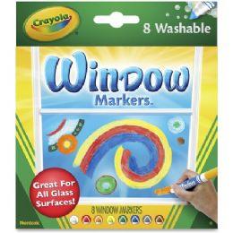 96 Bulk Crayola Washable Window Markers