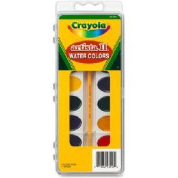144 Bulk Crayola Artista Ii Watercolor Set