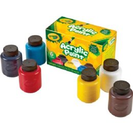 66 Bulk Crayola 6-Color Acrylic Paint Set