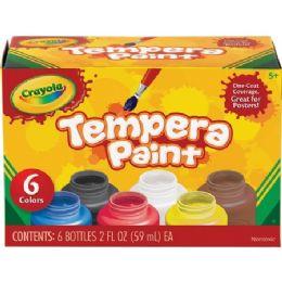 66 Bulk Crayola 6-Color Tempera Paint