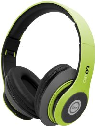 24 Bulk Power 3 Wireless Wireless Headphones Solid Lime