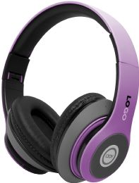 24 Bulk Power 3 Wireless Wireless Headphones Solid Purple