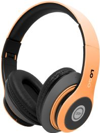 24 Bulk Power 3 Wireless Wireless Headphones Solid Orange Sun
