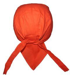 240 Bulk Orange Food Service Medical Skull Cap Head Wrap DO-Rag Chef Cook Medical Field