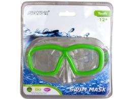 18 Bulk Ptx Coastal Gear Youth Swim Mask Assorted Green And Red