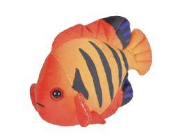 24 Bulk Wild Republic Sea Critters Plush Angelfish Flame