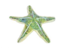 24 Bulk Wild Republic Plush Green Glitter Starfish