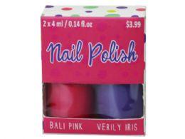 72 Bulk 2 Pack Nail Polish