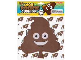 72 Bulk 9 Inch Emoticon Poopie Cushion
