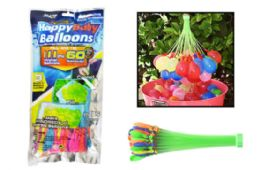 24 Bulk Fast Fill Water Balloons (111 Ct)