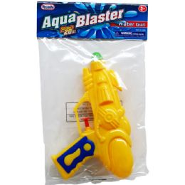 "48 Bulk 7"" Water Gun In Poly Bag W/ Header, 3 Assrt Clrs"