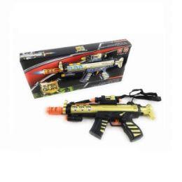 12 Bulk Super Gun Sound Light Toy Gun