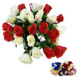 24 Bulk Roses In Two Colors