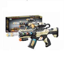 12 Bulk Sniper Rifle Sound Light Toy Gun