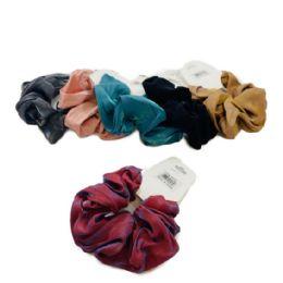 120 Bulk Large Solid Scrunchie