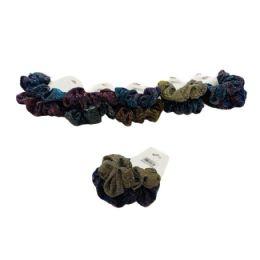 120 Bulk 2 Piece Holographic Glitter Scrunchie