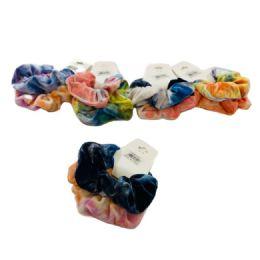 120 Bulk 2 Piece Tie Dye Scrunchie