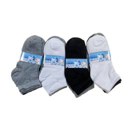 144 Bulk Boys Quarter Socks Sports