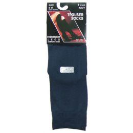 360 Bulk Ladies Trouser Socks - Size 9-11 - Navy