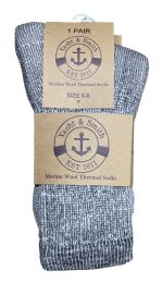 36 Bulk Yacht & Smith Kids Merino Wool Thermal Winter Camping Boot Socks