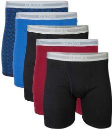 144 Bulk Gildan Mens Imperfect Boxer Briefs, Assorted Colors And Sizes Bulk Buy