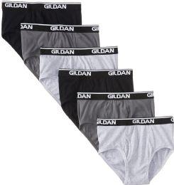 72 Bulk Gildan Mens Imperfect Briefs, Assorted Colors And Sizes Bulk Buy