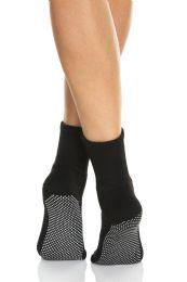 120 Bulk Yacht & Smith Multi Purpose Diabetic Black Rubber Silicone Gripper Bottom Slipper Sock Size 9-11 Bulk Buy