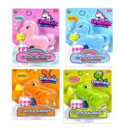 24 Bulk Bubble Gun Unicorn Or Dino