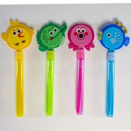 24 Bulk Bubble Wand With Animal Clapper