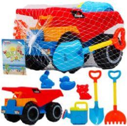 "9 Bulk 10.25"" Beach Toy Truck"