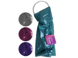 60 Bulk remington sequin scarf in assorted colors