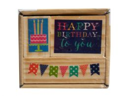 72 Bulk 3pk happy birthday stamp set