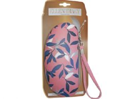 36 Bulk Ellen Tracy Sunglasses Case In Coral And Leaves Design