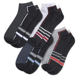 120 Bulk Men's Cotton Ankle Socks