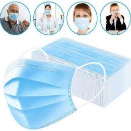50 Bulk 3 Ply Disposable Protection Masks