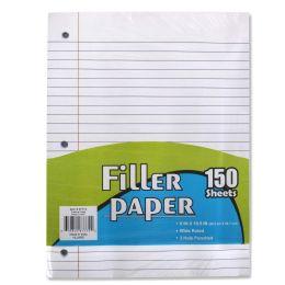 12 Bulk Filler Paper Wide Ruled 150 Sheets