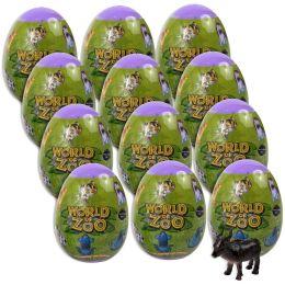100 Bulk Animal Eggs In Bulk 12 Collectible Figures