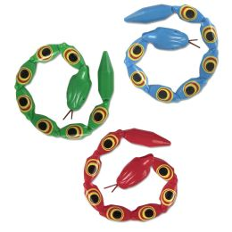 50 Bulk Toy Snake With Movable Joints